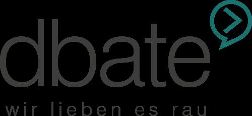 dbate – Videos. News. Debatte. Logo
