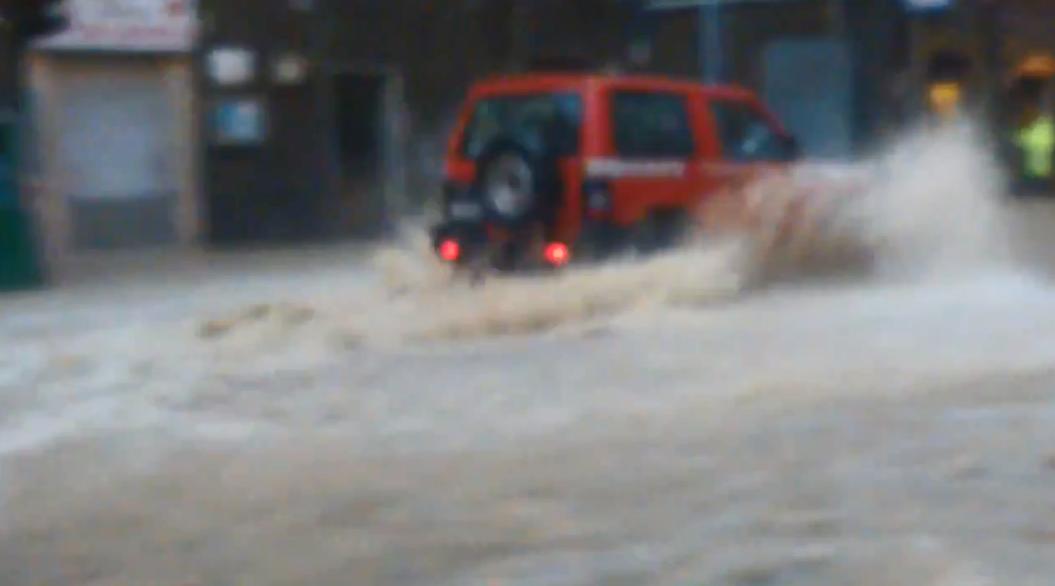 Überschwemmungen in Genua