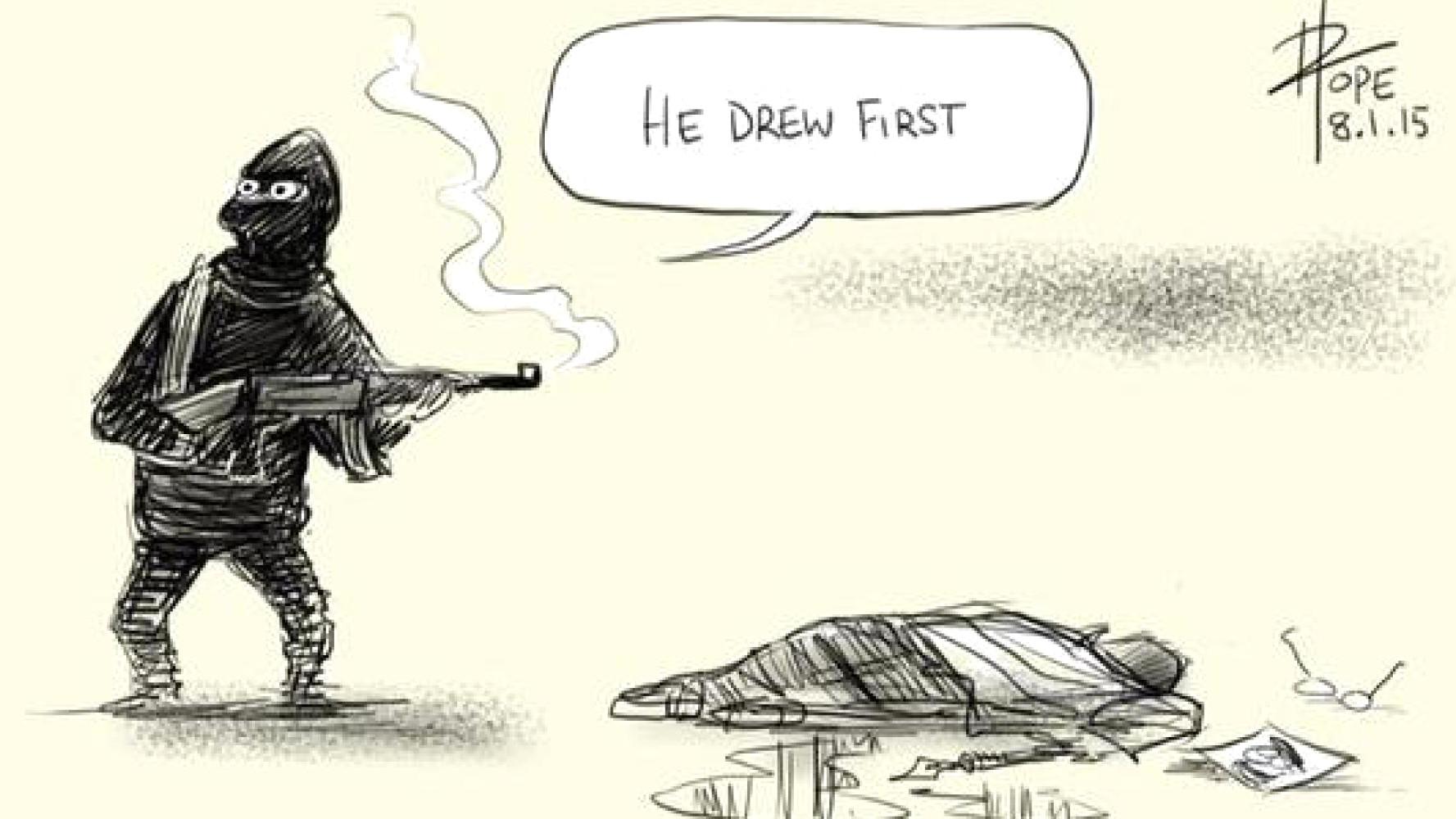 Charlie Hebdo-Anschlag, 2015.
