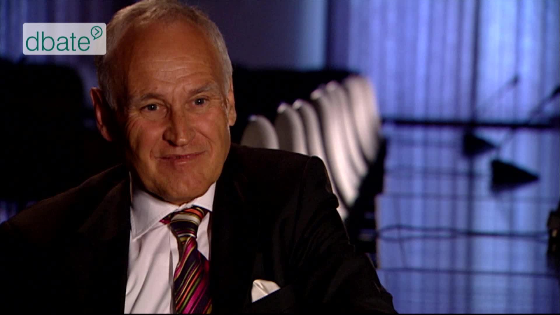 Erwin Huber im Interview mit Stephan Lamby, 2012.