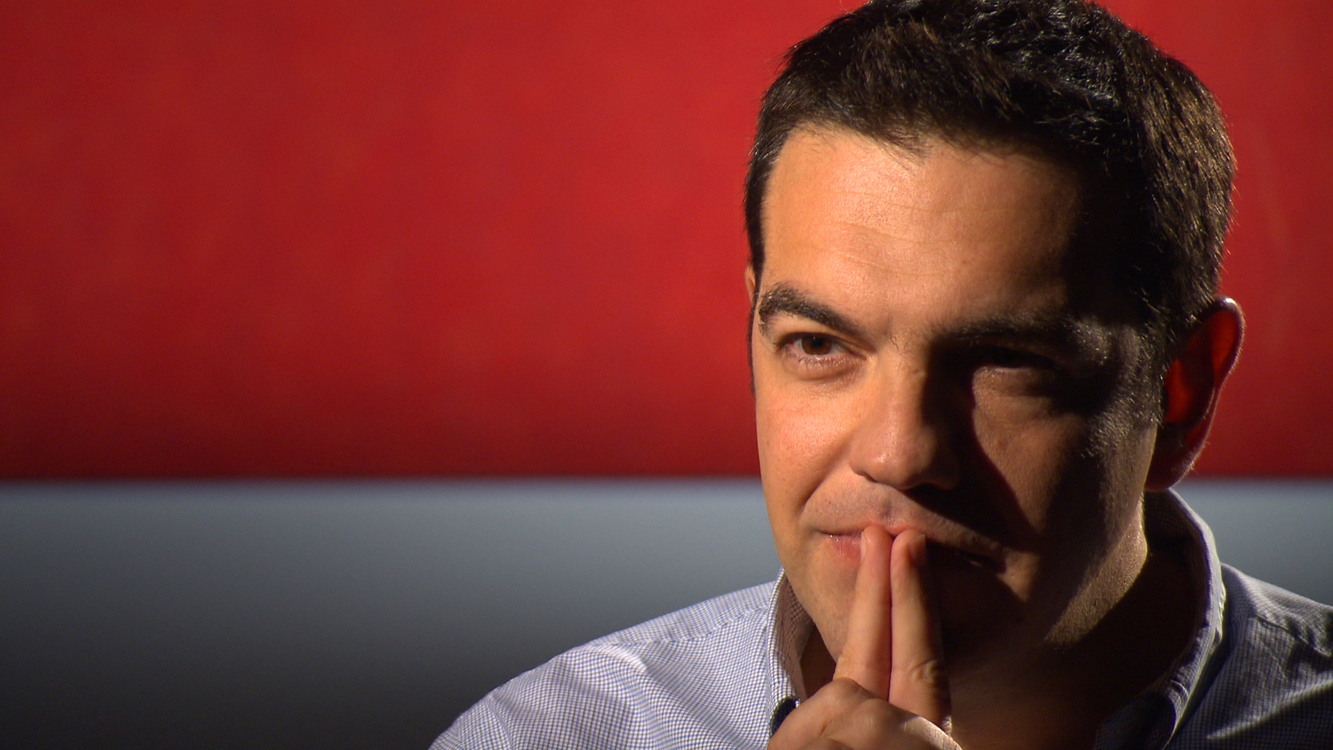 Alexis Tsipras im Interview mit Stephan Lamby