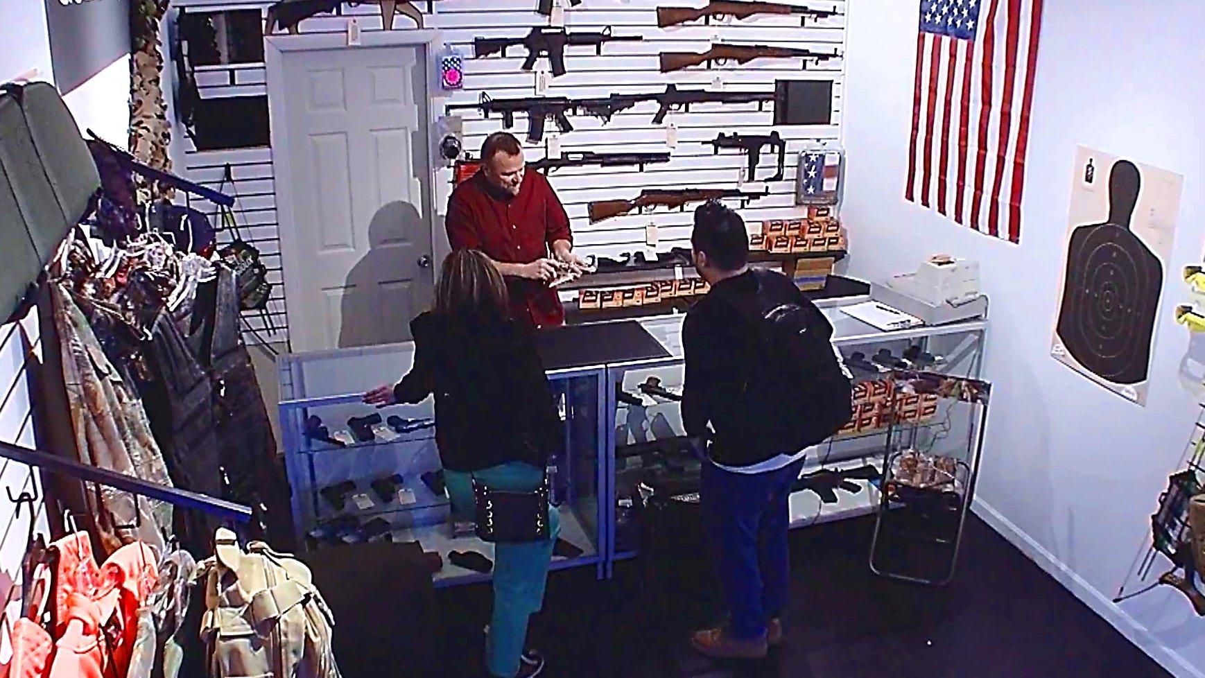Ein US-Waffengeschäft.