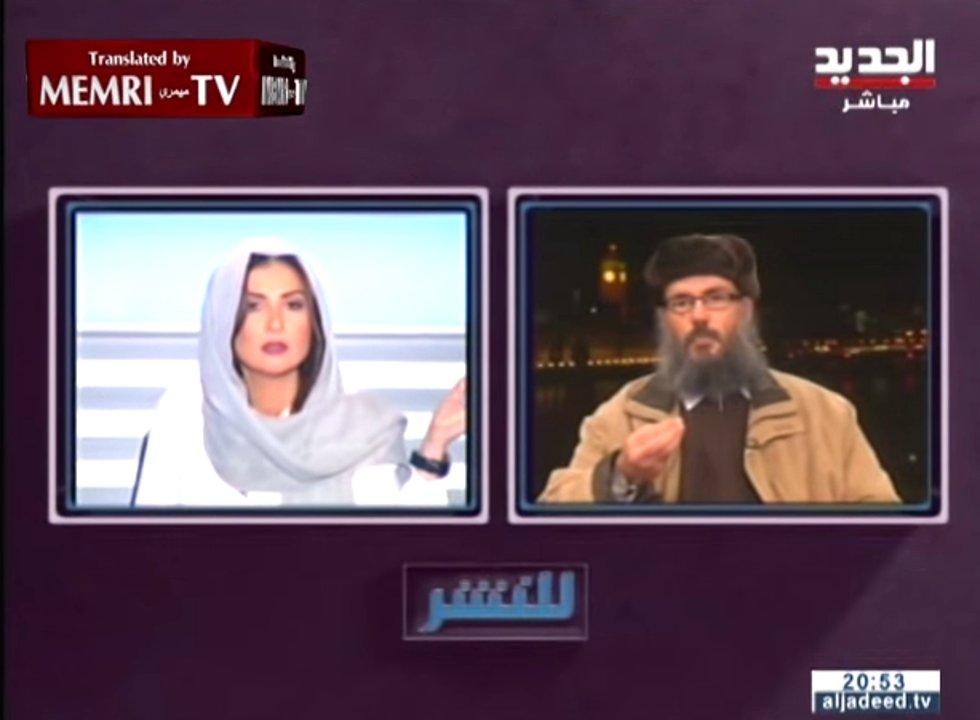 Libanesische TV-Moderatorin kontert ägyptischem Gelehrten im Fernsehen