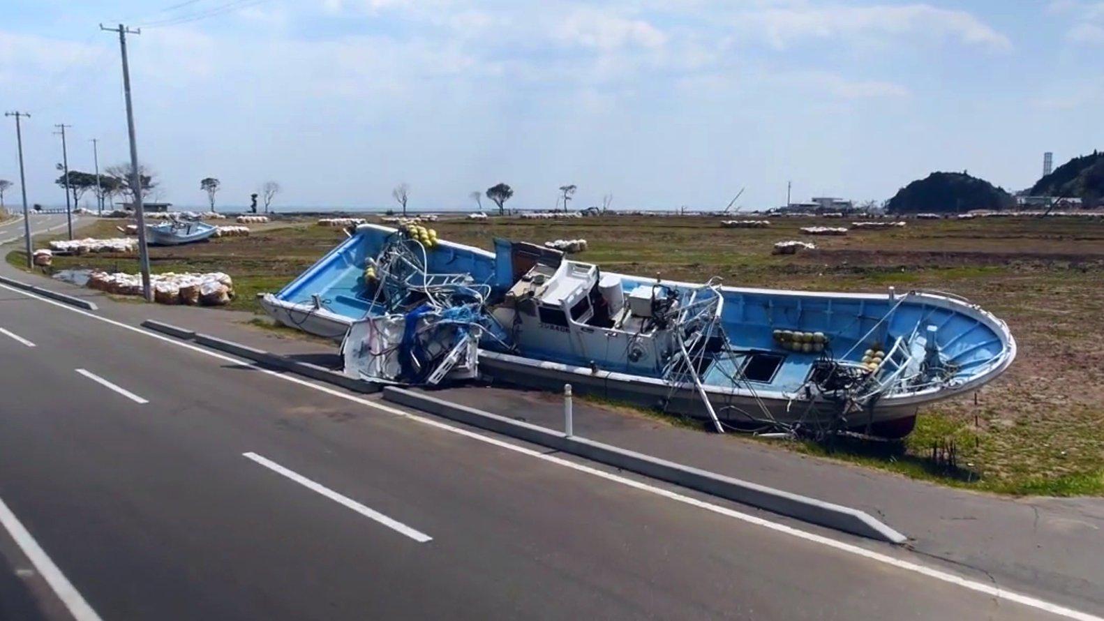 Beeindruckende Drohnenaufnahmen aus der Katastrophenregion um Fukushima