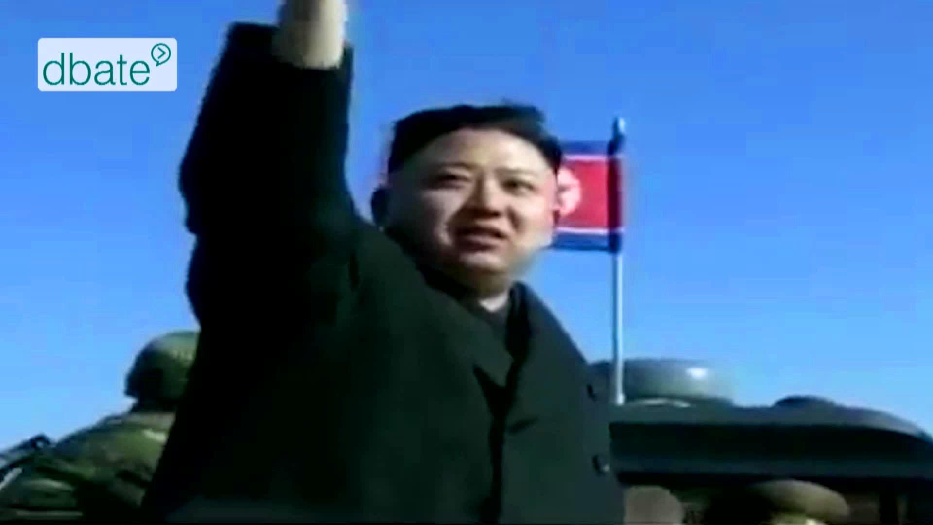 Nordkoreas Diktator Kim Jong Un.