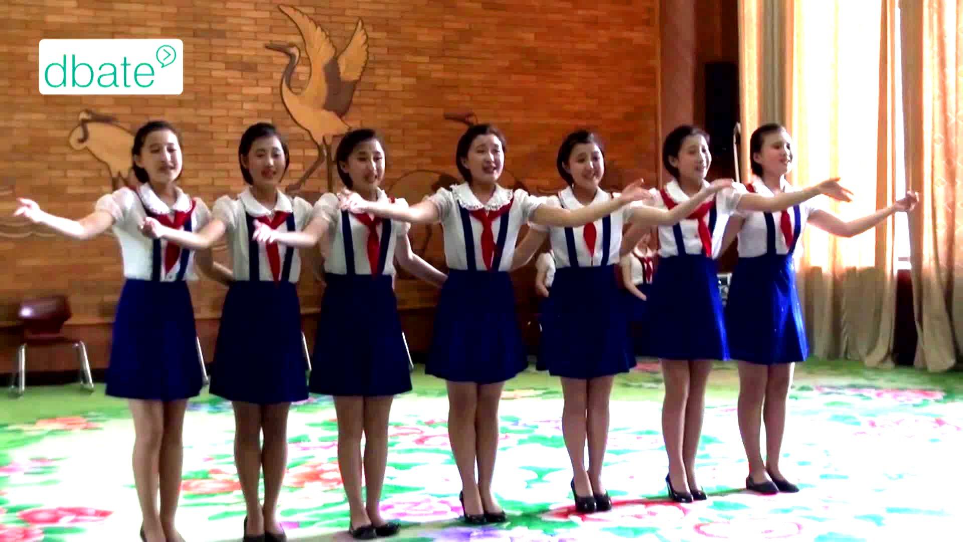 Junge Frauen in Nordkorea.