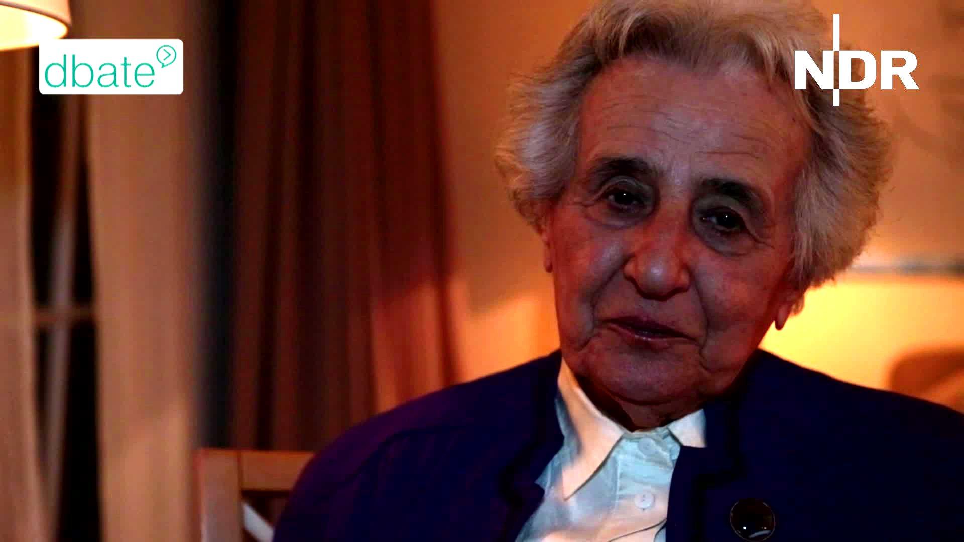 Anita Lasker-Wallfisch über ihr Jahr 1945.