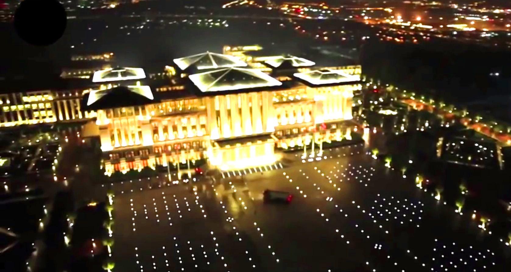 """""""White Palace"""" von Präsident Erdogan."""