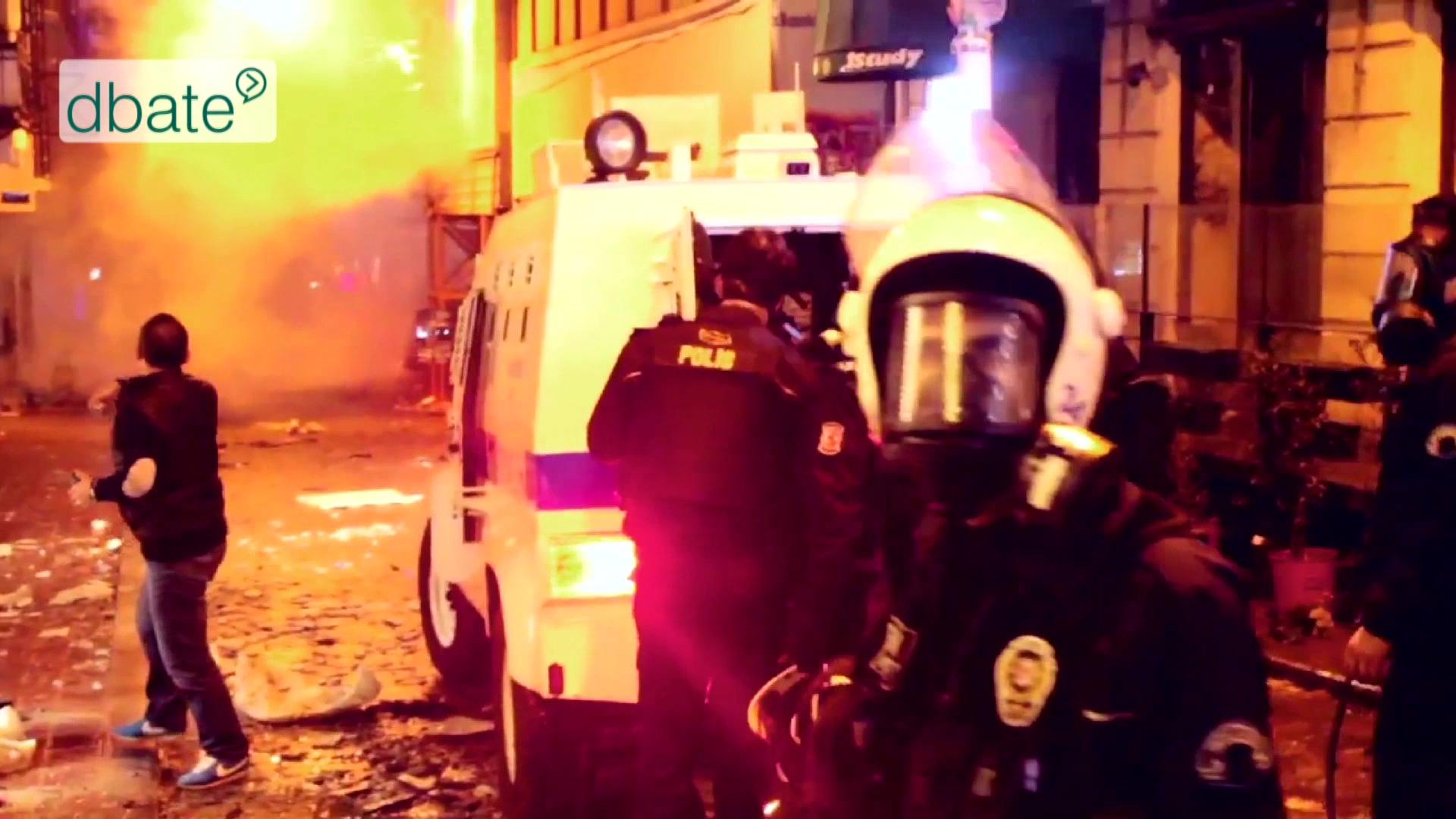 Protest in Türkeis Hauptstadt Istanbul, 2014.
