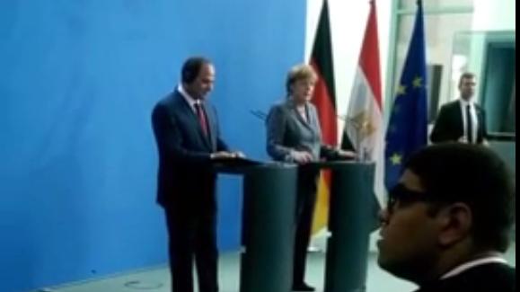 Pressekonferenz.