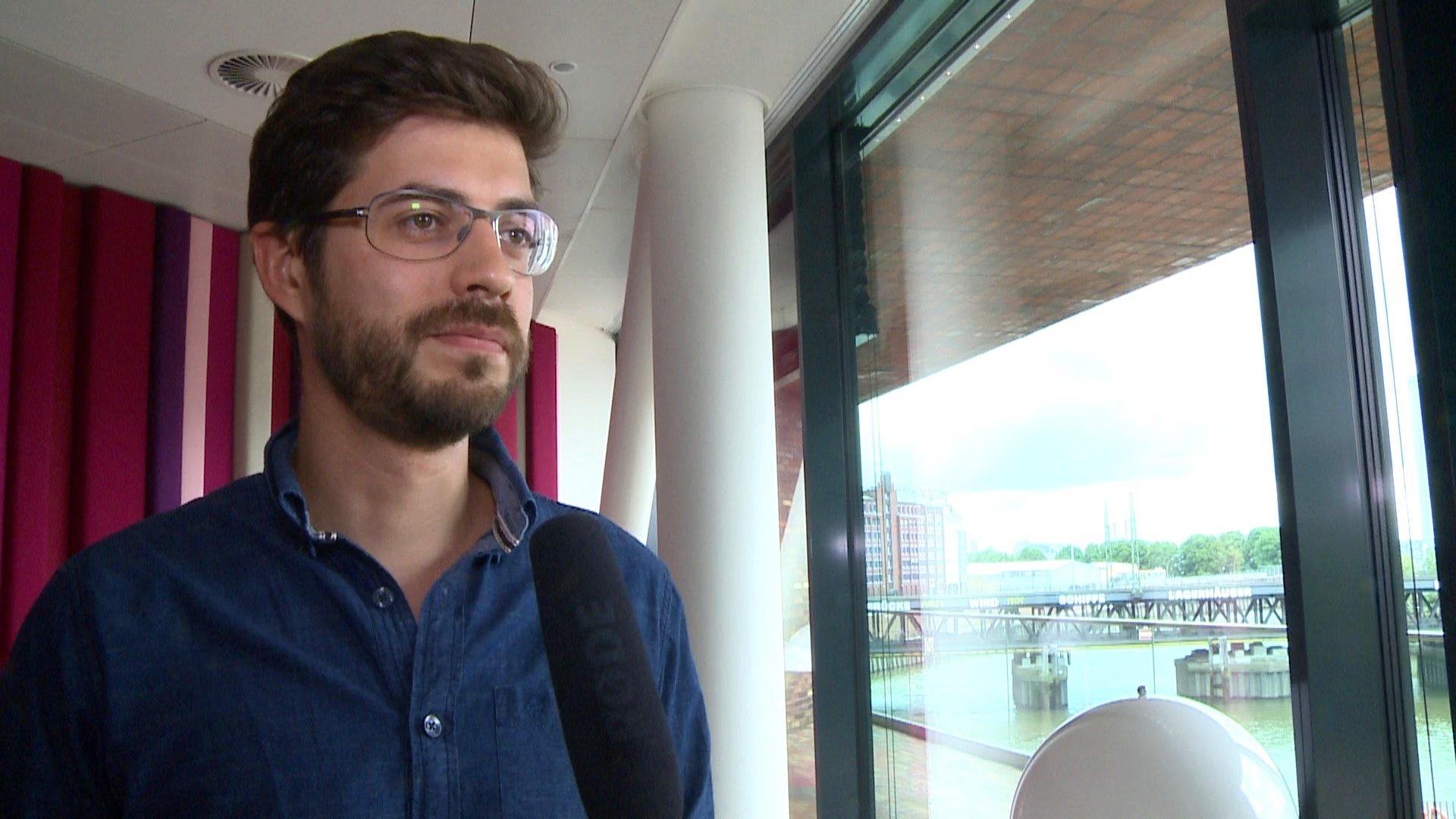 daniel Bröckerhoff im Interview mit dbate-Reporterin Denise Jacobs