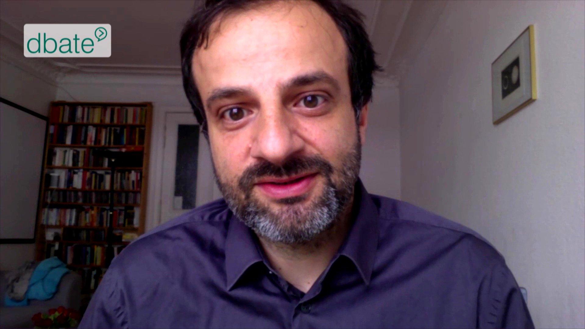 Dr. Serhat Karakayali im Skype-Interview für www.dbate.de