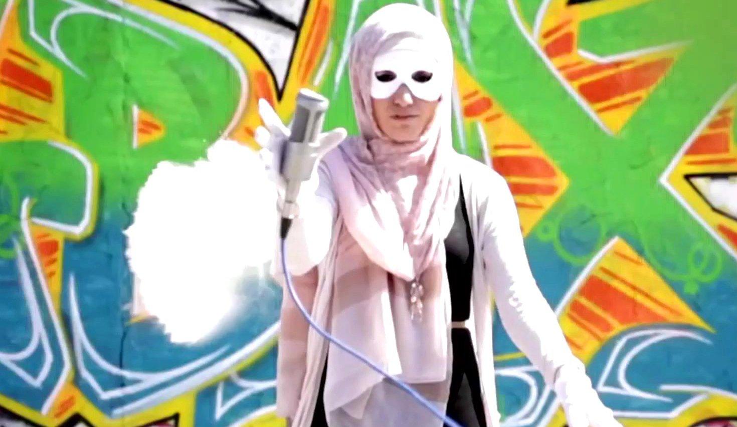 Muslimischer Videoblog i,Slam auf YouTube, 2015.