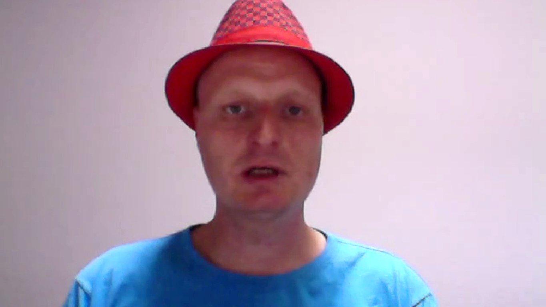 netzpolitik.org-Blogger Andre Meister im dbate.de-Interview, 2015.