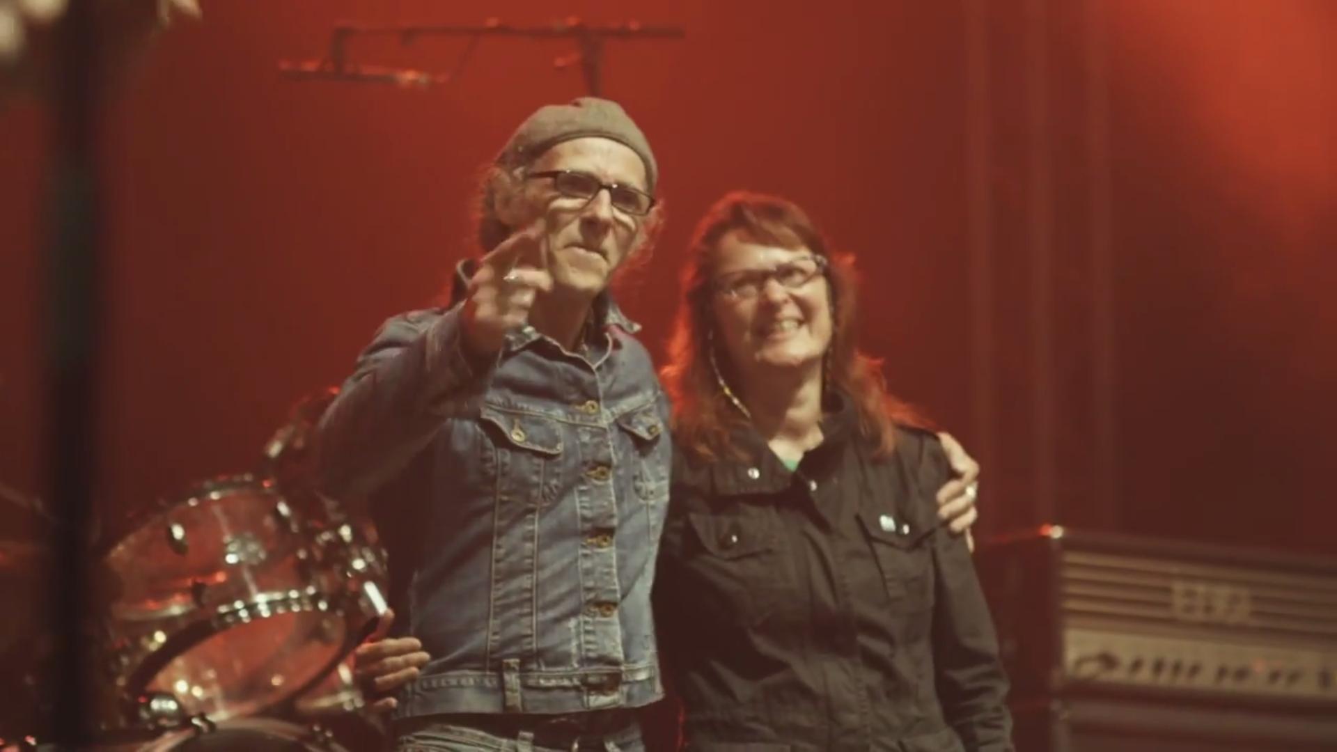 Birgit und Horst Lohmeyer aus Jamel kämpfen gegen Nazis, 2015.