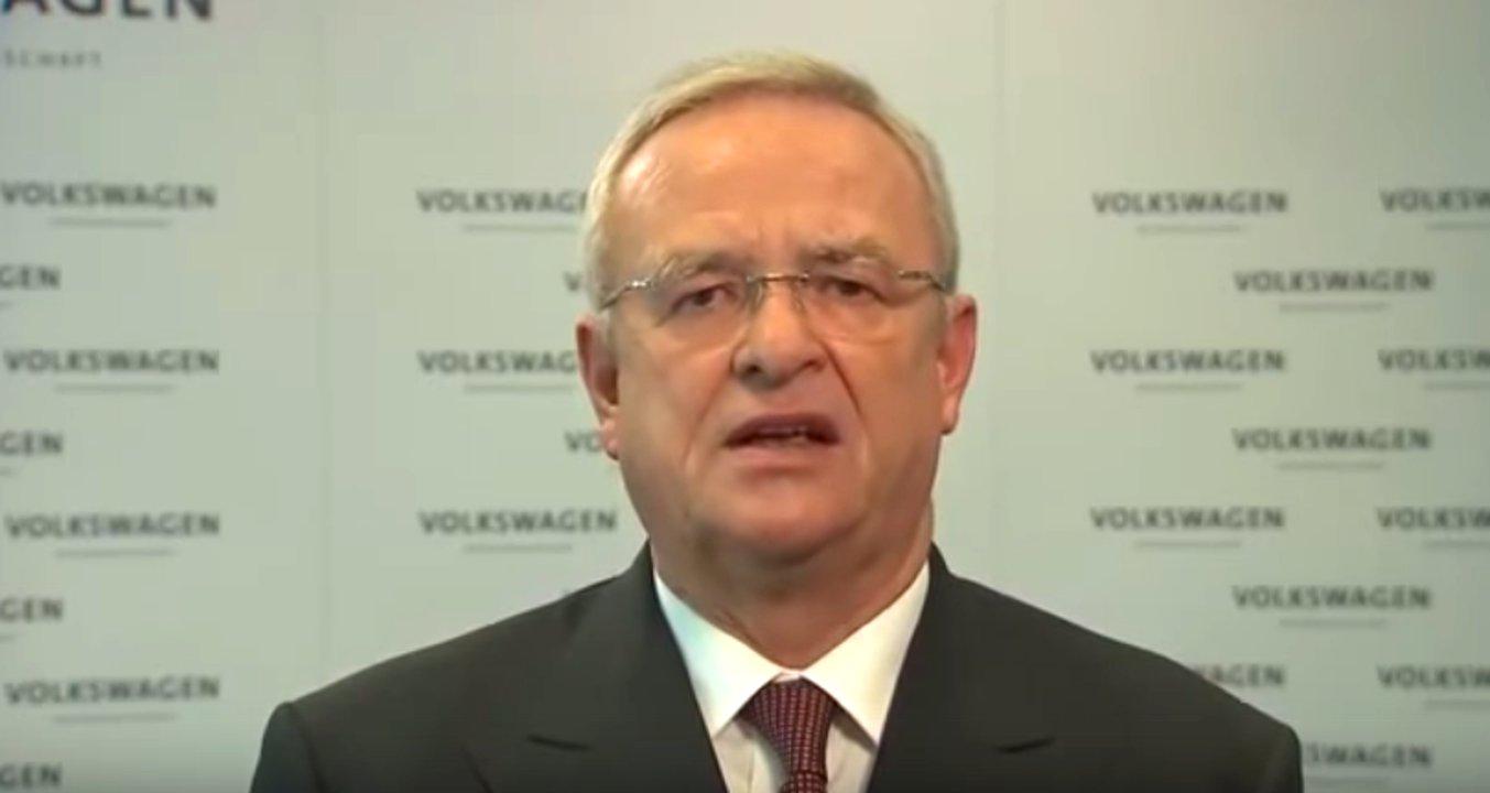 Prof. Dr. Martin Winterkorn, Vorstandsvorsitzender der Volkswagen AG, nimmt Stellung zu den Vorwürfen der Diesel-Abgas-Affäre.