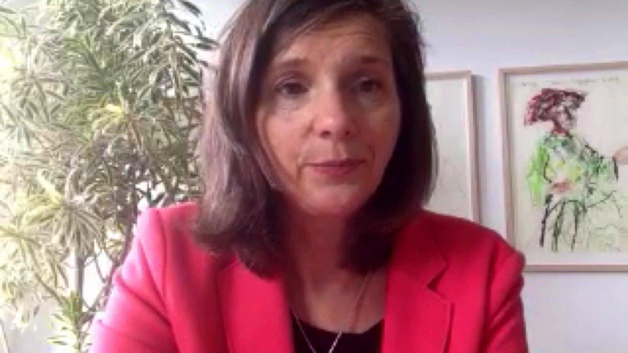 Fraktionsvorsitzende der Grünen im Bundestag Katrin Göring-Eckardt zu #NoHateSpeech, 2015.