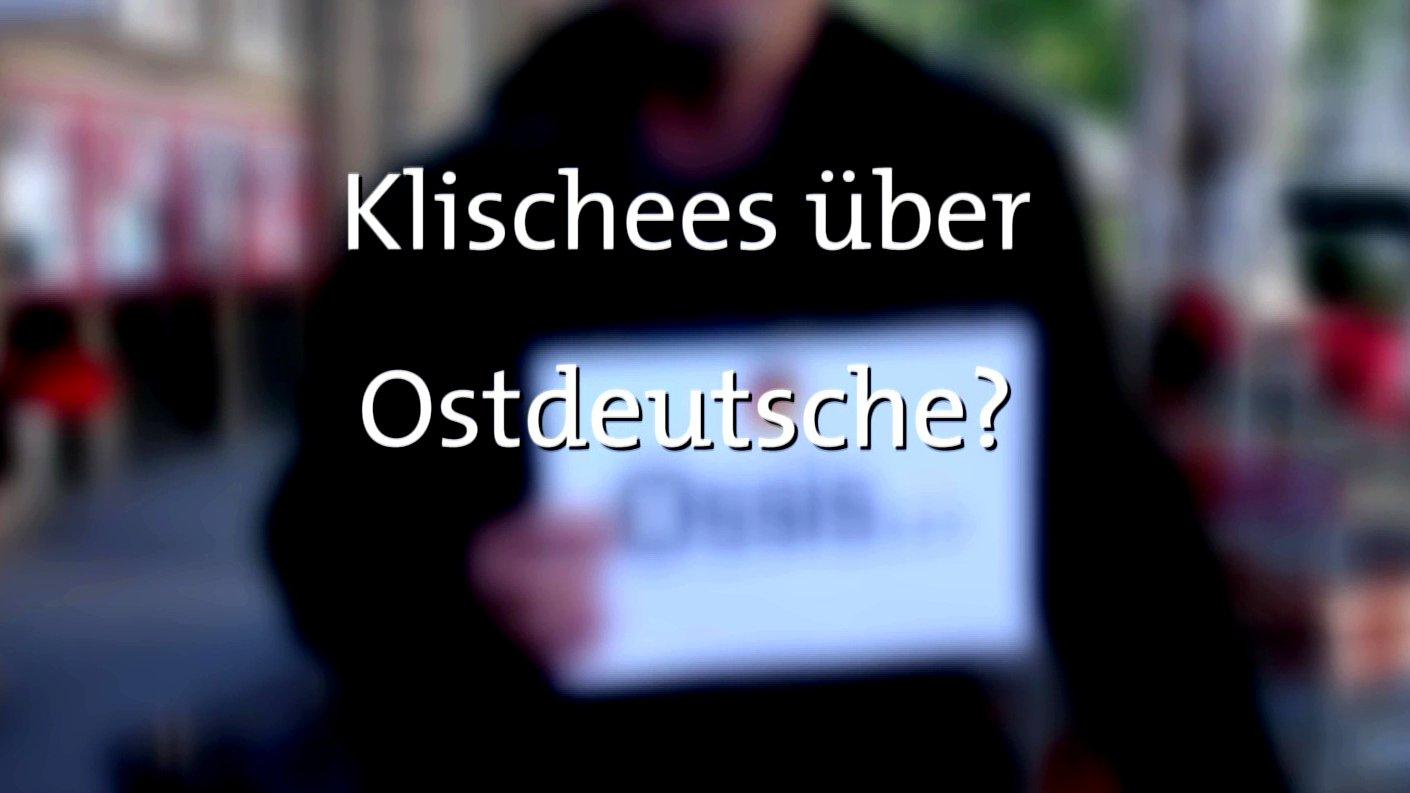 Umfrage: Was Wessis über Ossis denken, 2015.