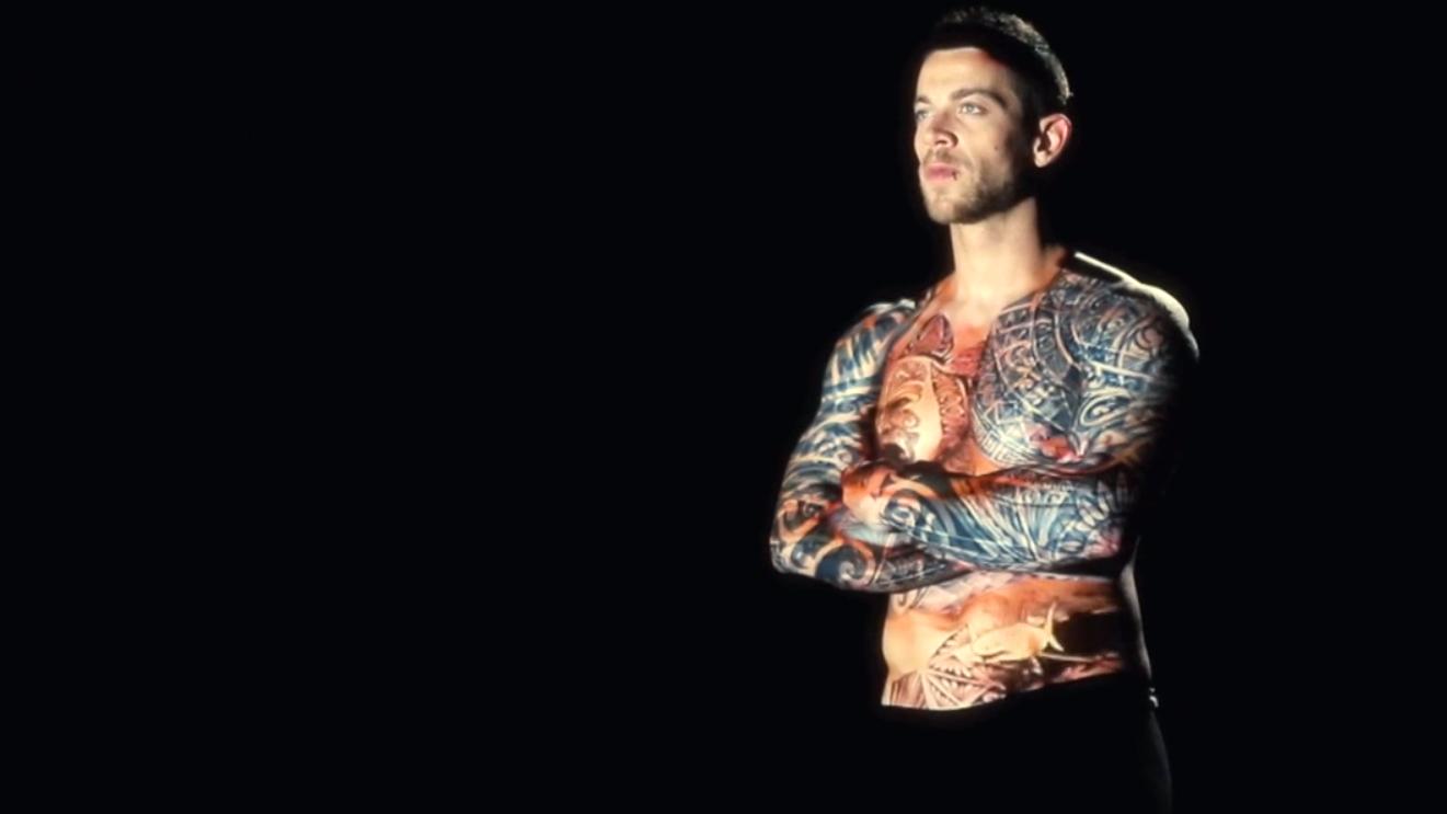 Tattoos, Ink Mapping von Oskar und Gaspar , 2015.