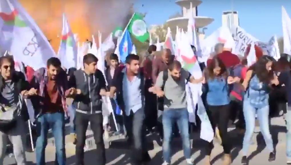 Terroranschlag bei Friedensdemonstration in Ankara, 10.10.2015