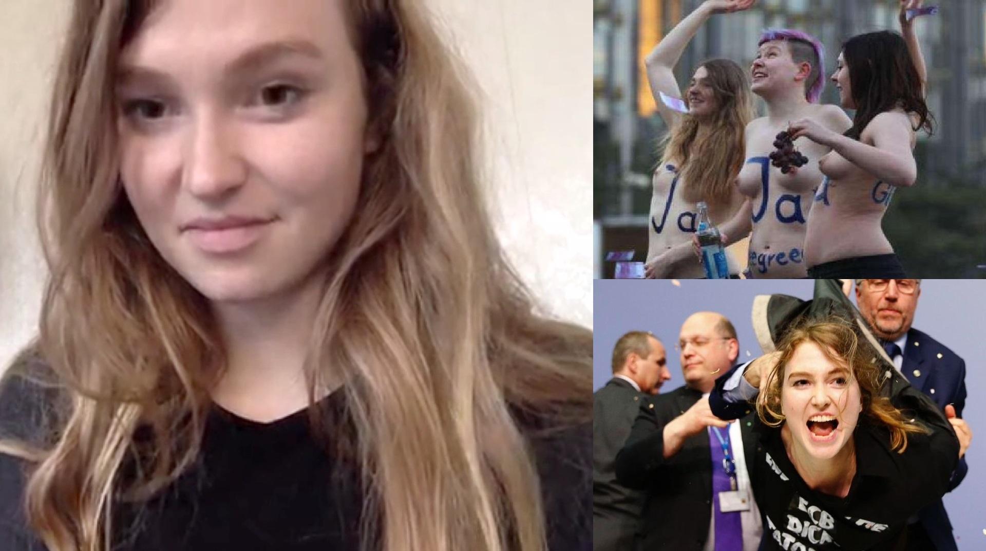 ex-FEMEN-Aktivistin Josephine Witt über nackten Protest