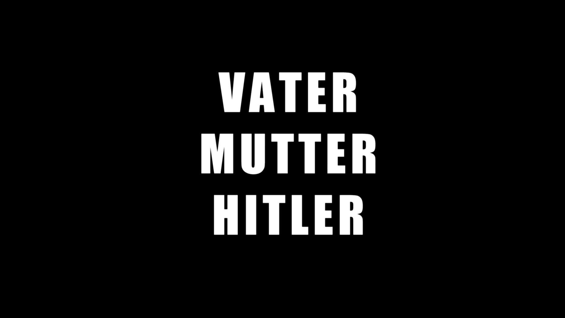 """Trailer zu """"Vater, Mutter, Hitler - vier Videotagebücher und eine Spurensuche"""", 2016."""