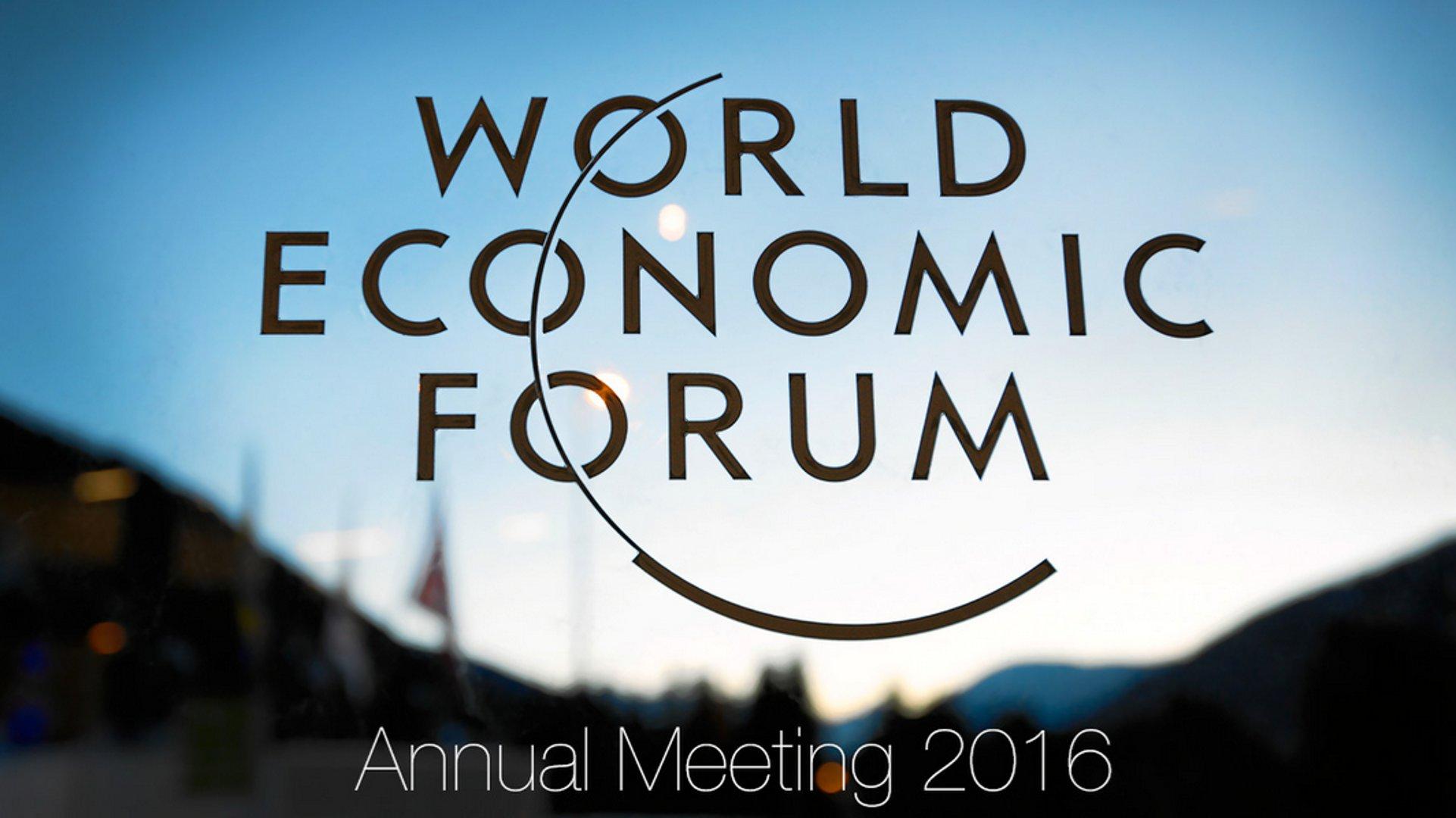 Livestream: World Economic Forum Annual Meeting 2016 (video)