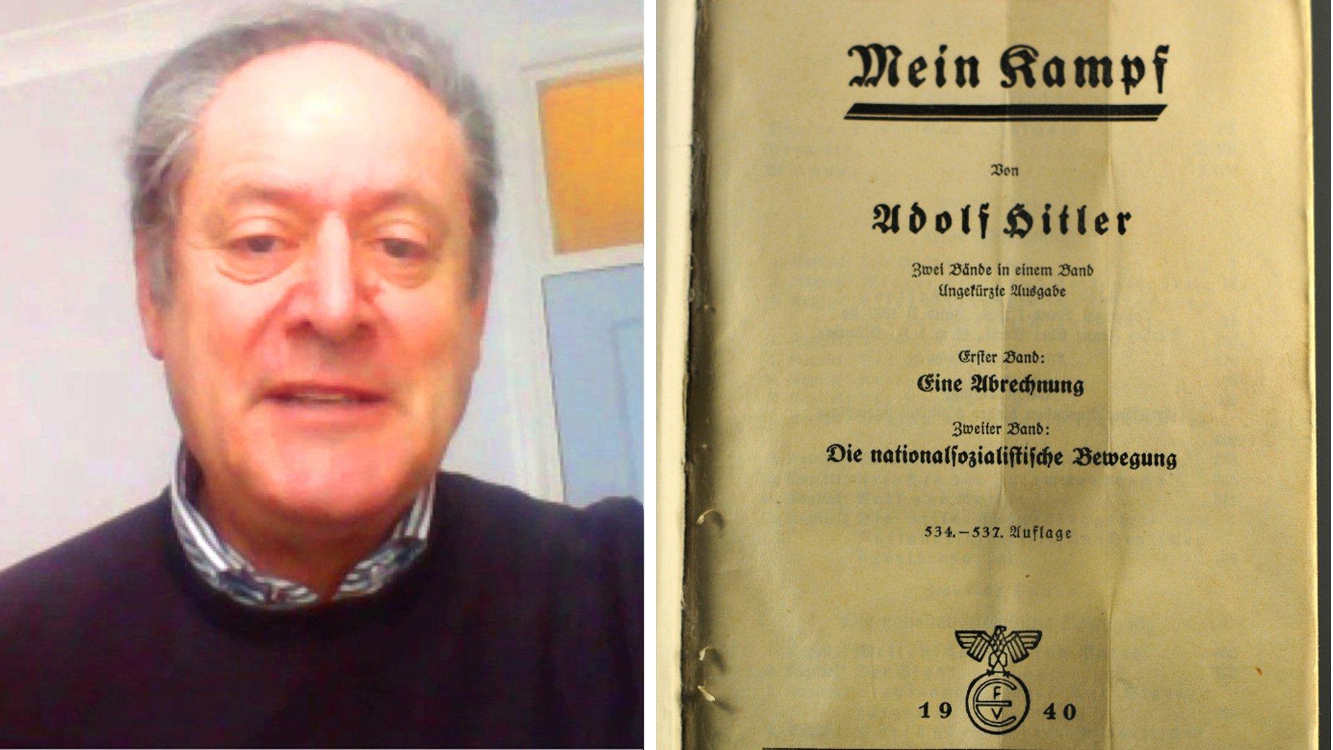 """Jeremy Adler spricht über die kommentierte Neuauflage von Hitlers """"Mein Kampf"""""""