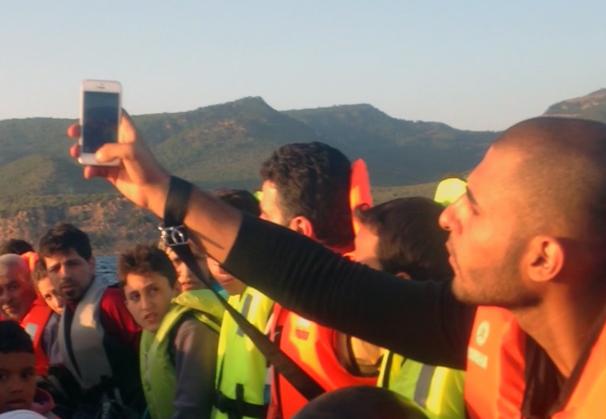 Dokumentarfilm #myescape über die Flucht nach Europa, dokumentiert mit dem Handy