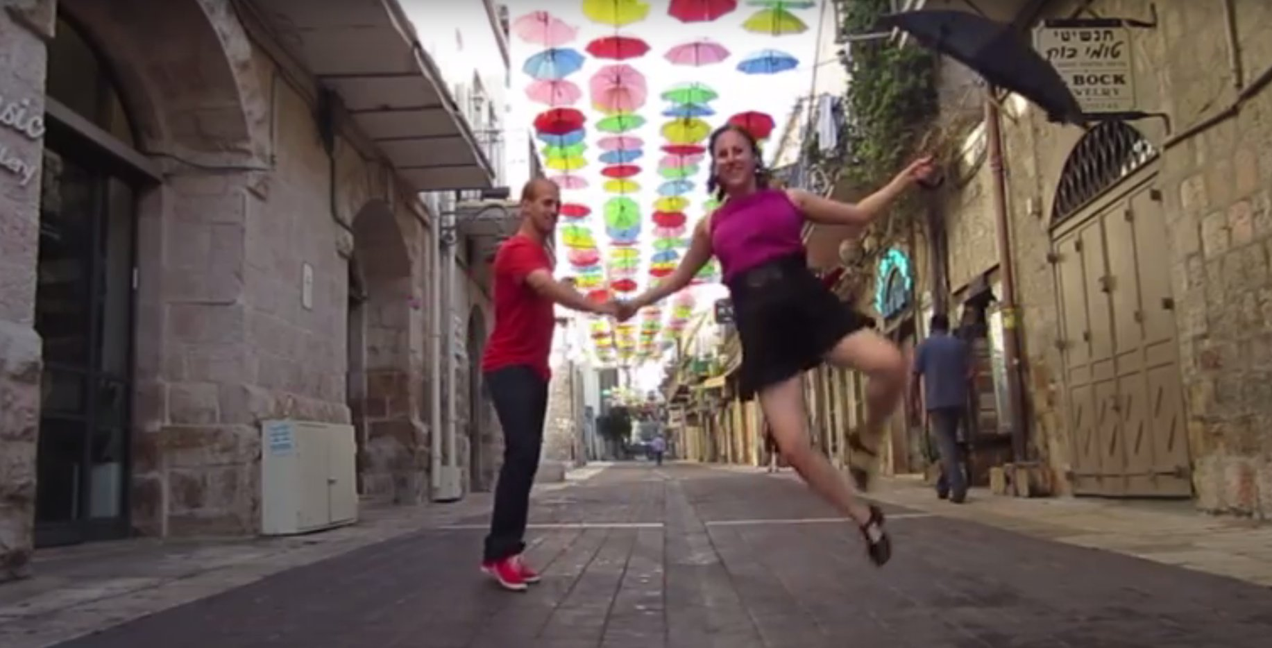 "Tanzschule ""Holy Lindy Land"" bietet in ganz Israel Swing Tanzkurse an"