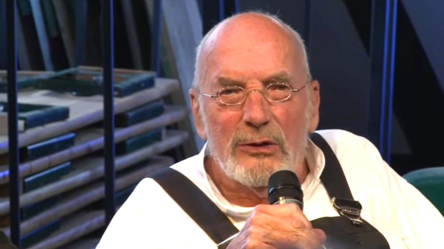 """Löwenzahn""-Moderator Peter Lustig, 2012 (Video)"
