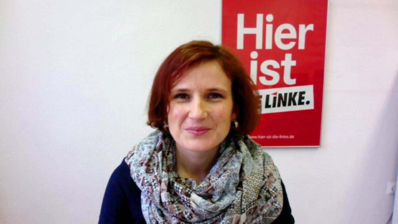 Katja Kipping (Parteivorsitzende Die Linke) im dbate.de-Interview, 2016.