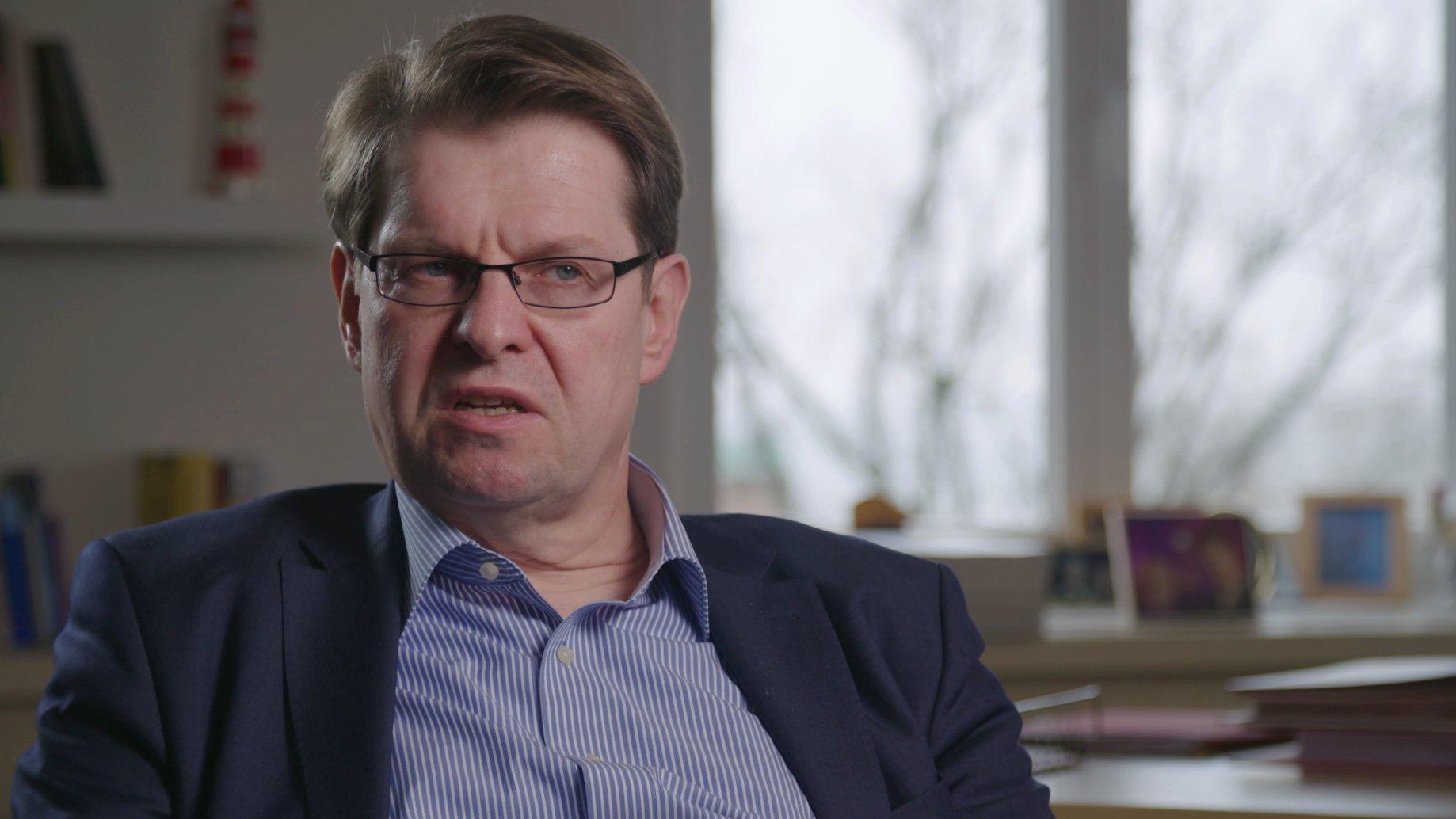Interview mit Ralf Stegner (SPD) über die AfD, 2016 (Video)