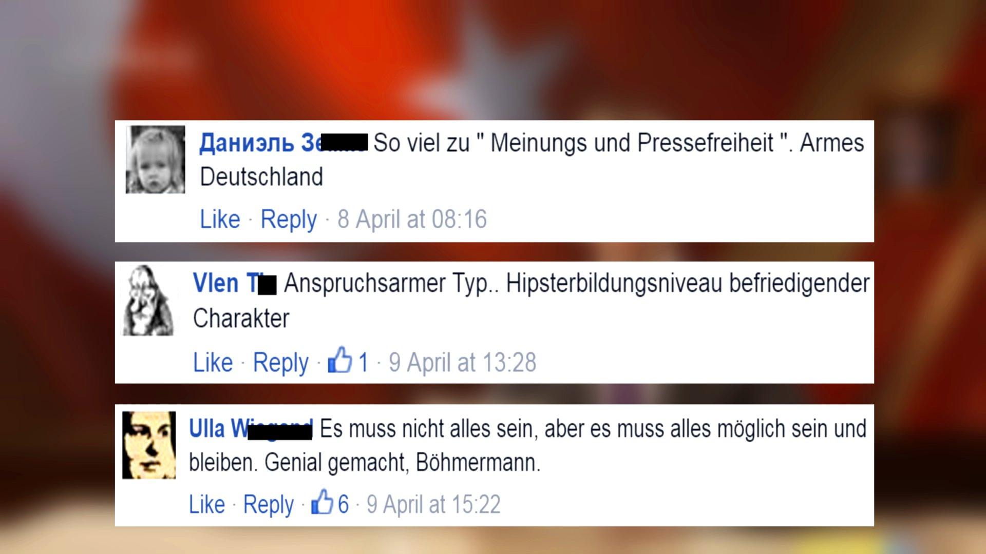So reagiert das Netz auf Böhmermann Schmähgedicht, 2016 (Video)