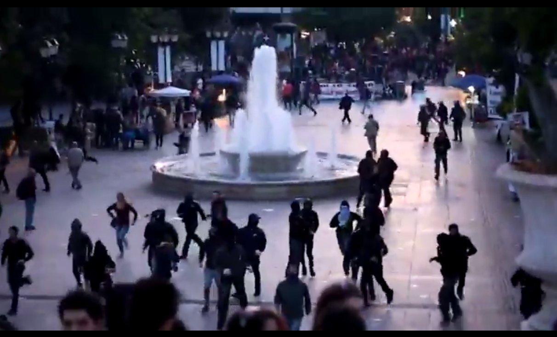 Griechenland: Heftige Proteste in Athen