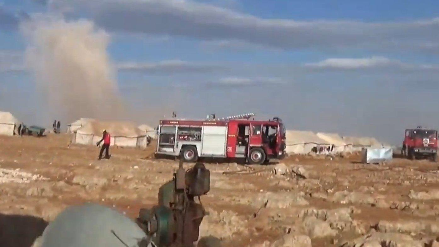 FLASH: Angriffe auf syrisches Flüchtlingscamp