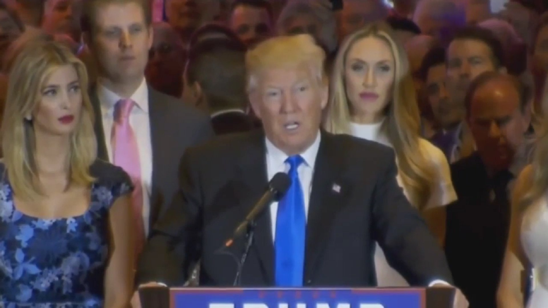 Donald Trump lobt Ted Cruz
