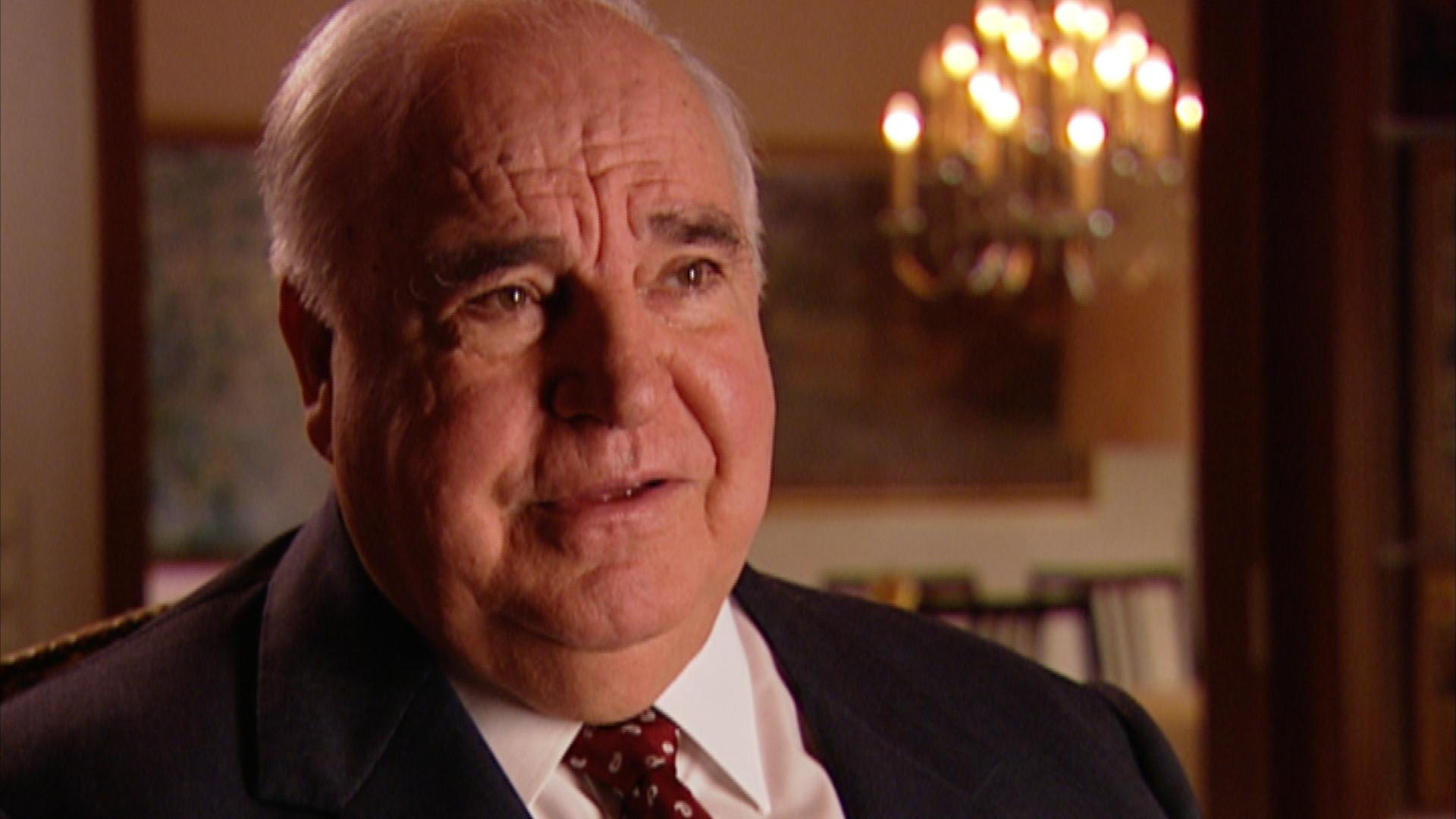 Helmut Kohl im Interview