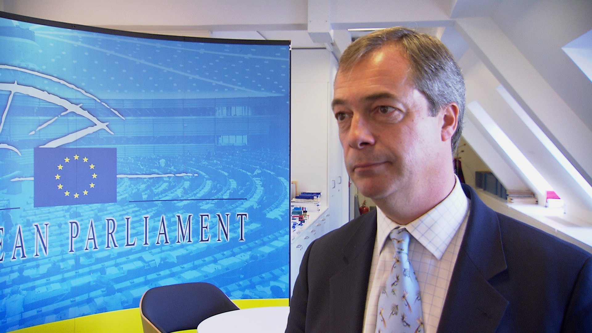 Nigel Farage im Interview über den Brexit