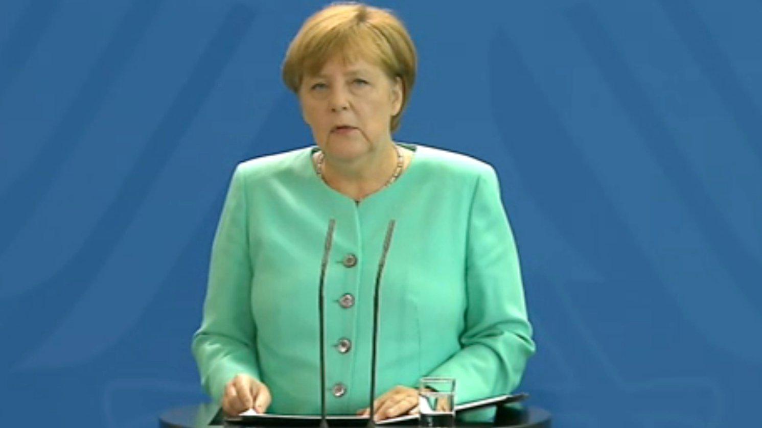 Angela Merkel äußert sich zum Brexit