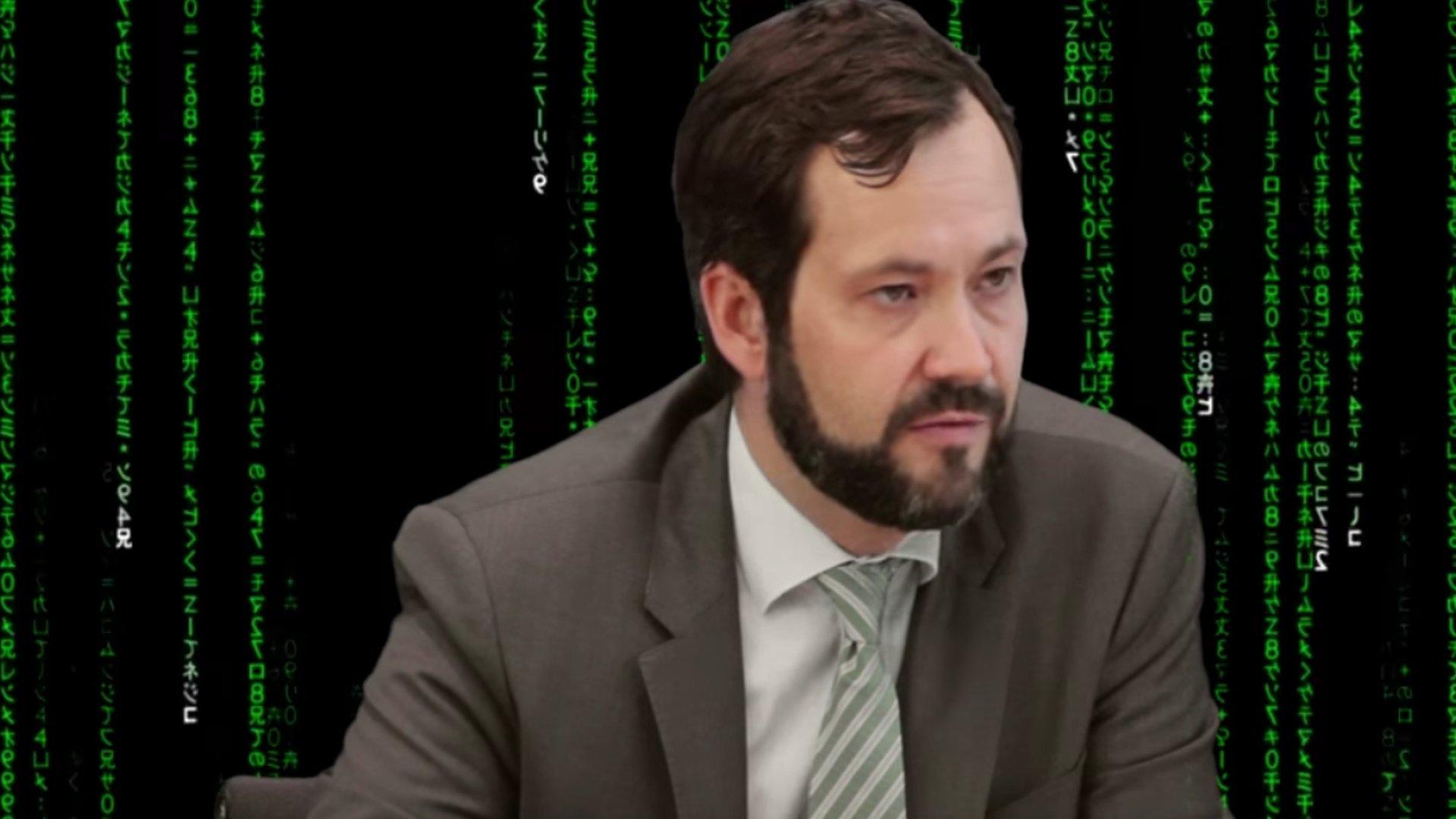 Tobias Plate zum Darknet, Bundespressekonferenz