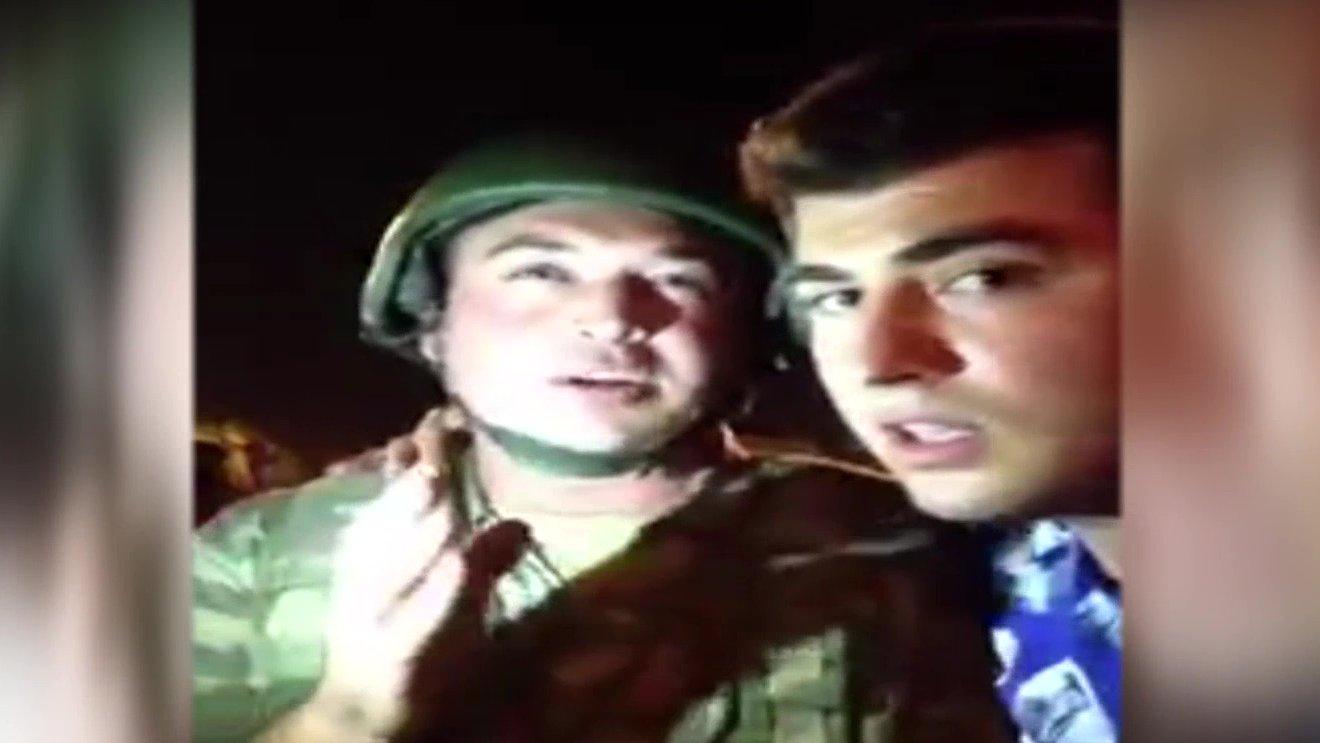 Facebook-Live-Videos vom versuchten Militärputsch in der Türkei