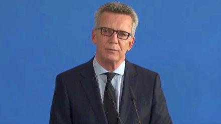 Thomas de Maizière zu Killerspielen und München
