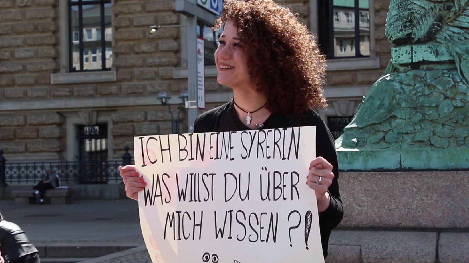KOLUMNE: Ich bin eine Syrerin - Was willst du über mich wissen?