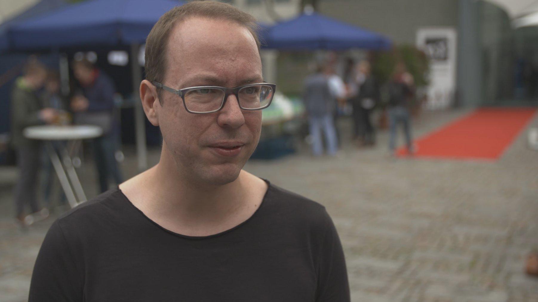 Umfrage: Vertrauensverlust der Medien, Blogger Markus Beckedahl