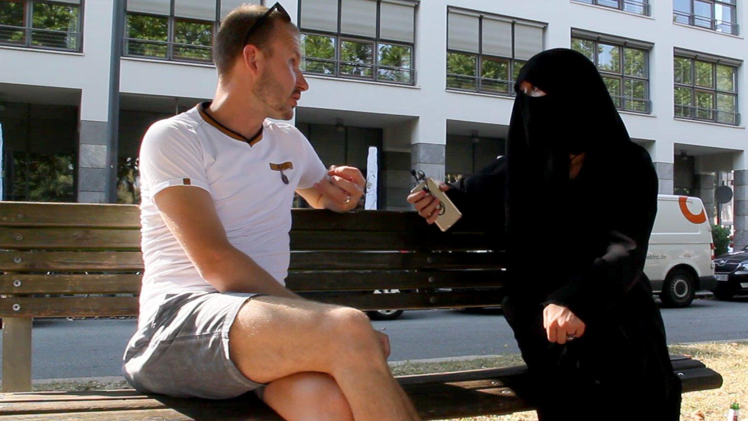 Angst vor verschleierten Frauen - ein Selbstversuch in Hamburg