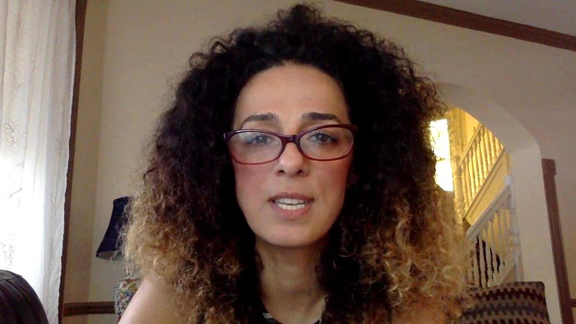 Iranische Journalistin und Aktivistin Masih Alinejad