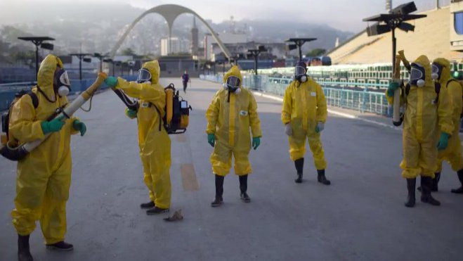 Bekämpfung des Zika-Virus in Brasilien