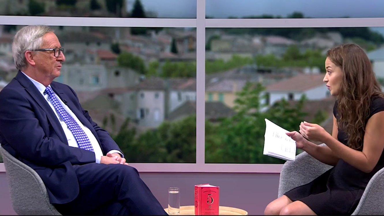 YouTube-Interview mit Jean-Claude Juncker