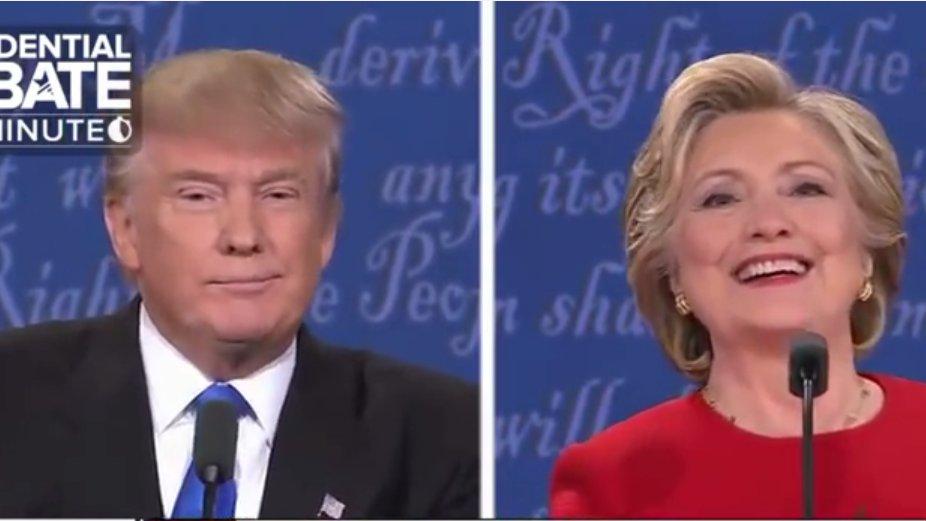 Clinton vs. Trump: TV-Duell zwischen Hillary Clinton und Donald Trump